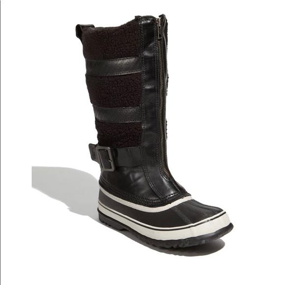 Sorel Helen of Tundra Front Zip Boots